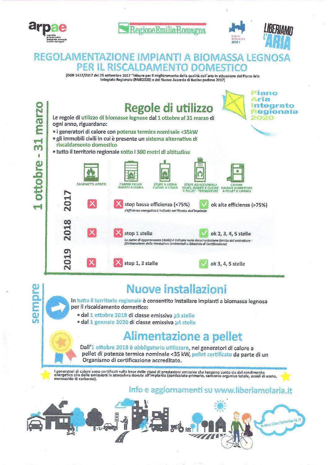 Camini E Stufe Emilia Romagna regolamentazione impianti a biomassa legnosa per il